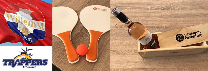 prijzen zoals kaartjes voor Willem II en een beachball set