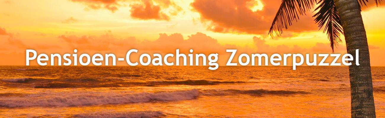 Pensioen-Coaching Zomerpuzzel