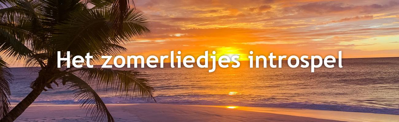 zomerliedjes introspel